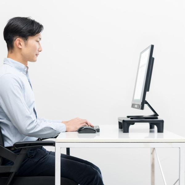 モニター台 パソコン 机上台 液晶 高さ調整|sanwadirect|11