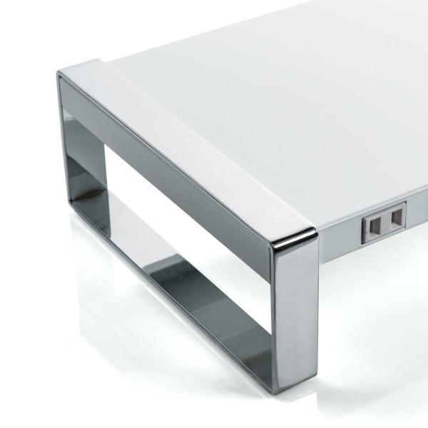 モニター台 机上台 USB コンセント搭載 幅100cm|sanwadirect|16