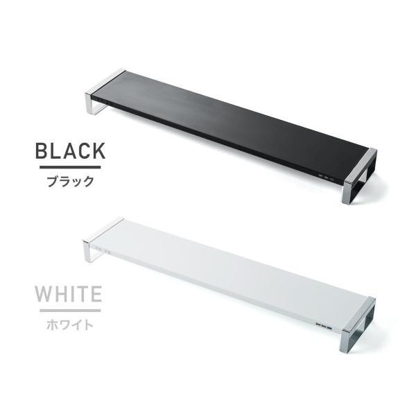 モニター台 机上台 USB コンセント搭載 幅100cm|sanwadirect|20