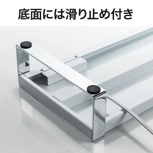 モニター台 机上台 USB コンセント搭載 幅100cm|sanwadirect|09
