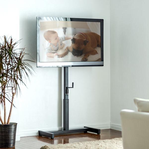 テレビスタンド 壁寄せテレビ台 手動上下昇降 32 37 42 43 49 50 52 型 インチ 対応(即納)|sanwadirect|15