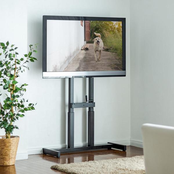 テレビスタンド 壁寄せテレビ台 手動上下昇降 55型/57型/60型/65型対応(即納)|sanwadirect|19