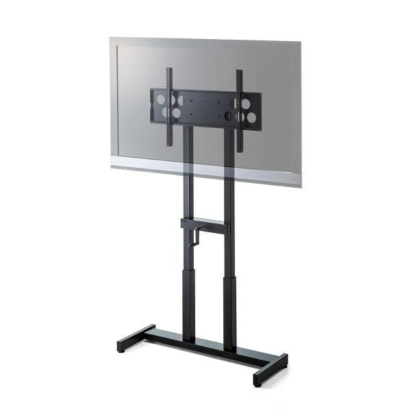テレビスタンド 壁寄せテレビ台 手動上下昇降 55型/57型/60型/65型対応(即納)|sanwadirect|20