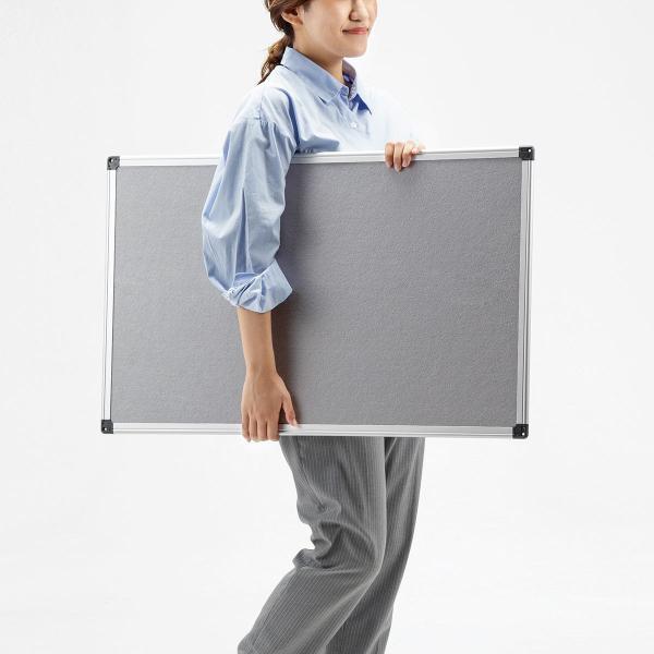 掲示板 メッセージボード レターボード フェルト 看板 壁掛け 家庭 オフィス (即納)|sanwadirect|10