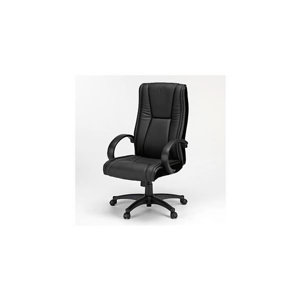 オフィスチェア ハイバック レザーチェア パソコンチェア ロッキング 肘付 椅子(即納) sanwadirect 08