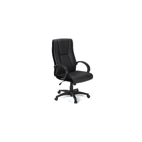 オフィスチェア ハイバック レザーチェア パソコンチェア ロッキング 肘付 椅子(即納) sanwadirect 03