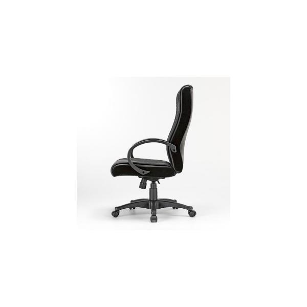 オフィスチェア ハイバック レザーチェア パソコンチェア ロッキング 肘付 椅子(即納) sanwadirect 04