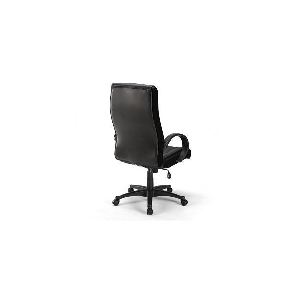 オフィスチェア ハイバック レザーチェア パソコンチェア ロッキング 肘付 椅子(即納) sanwadirect 05