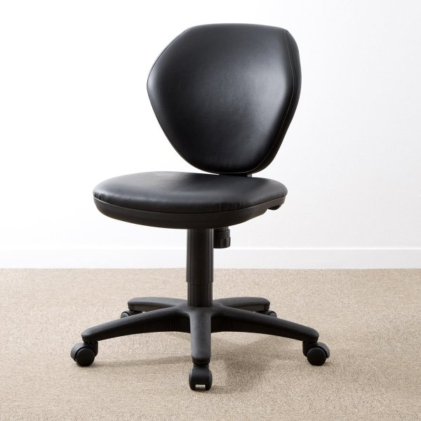 オフィスチェア レザー 事務椅子 チェア(即納)|sanwadirect|09