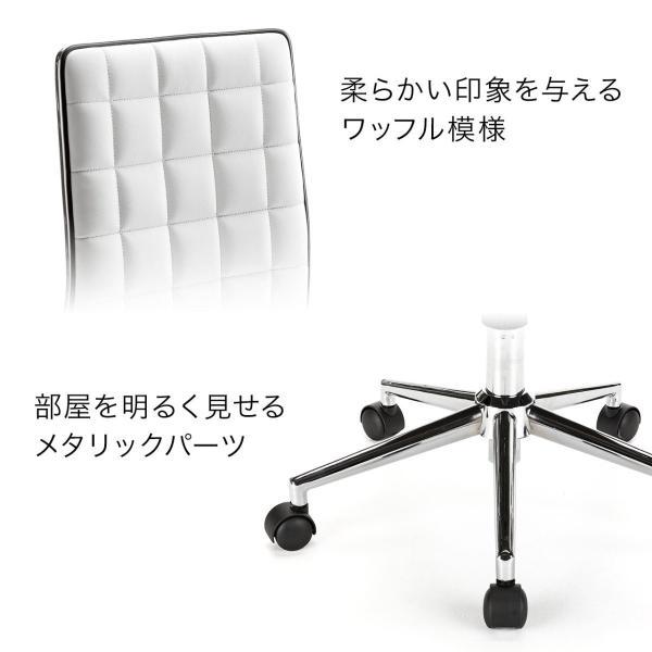 デスクチェア オフィス おしゃれ(即納)|sanwadirect|04