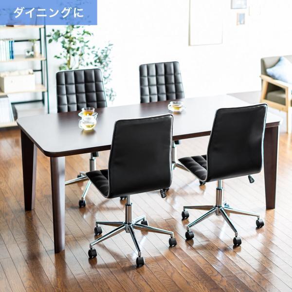 デスクチェア オフィスチェア パソコンチェア カフェチェア ダイニングチェア チェア 椅子 シンプル おしゃれ(即納) sanwadirect 07
