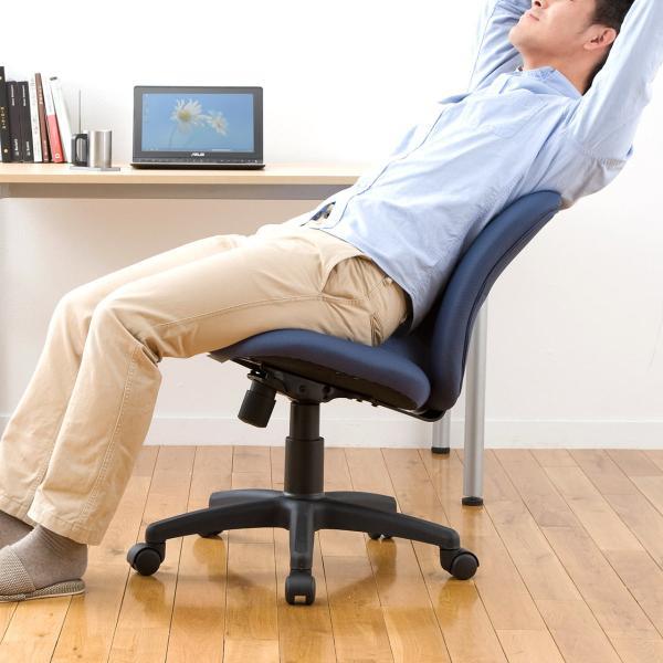 オフィスチェア パソコンチェア 事務椅子 学習椅子 オフィスチェアー デスクチェア  チェア チェアー イス いす オフィス 低反発 疲れにくい(即納)|sanwadirect|07