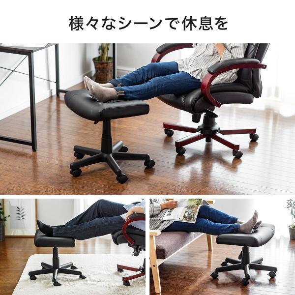 オットマン リラックス 脚置き台 スツール チェア 椅子 ソファ シンプル sanwadirect 06