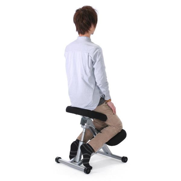バランスチェア バランスチェアー 姿勢 矯正 椅子(即納)|sanwadirect|11