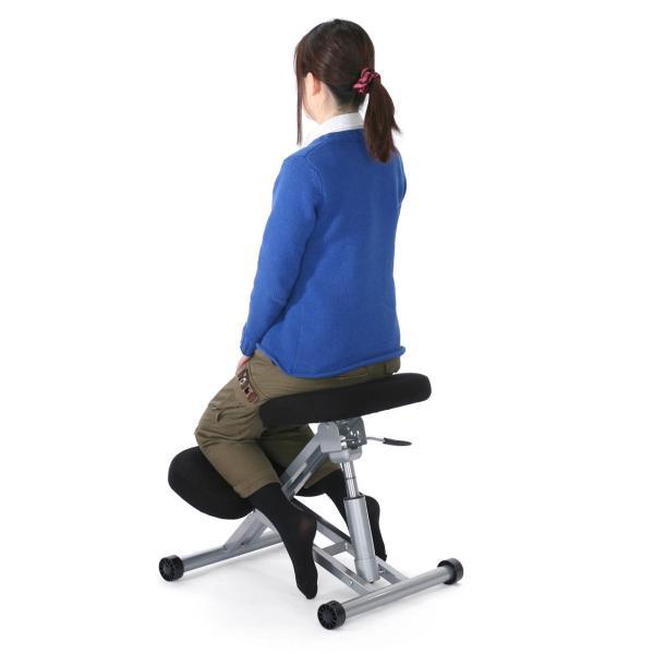 バランスチェア バランスチェアー 姿勢 矯正 椅子(即納)|sanwadirect|12