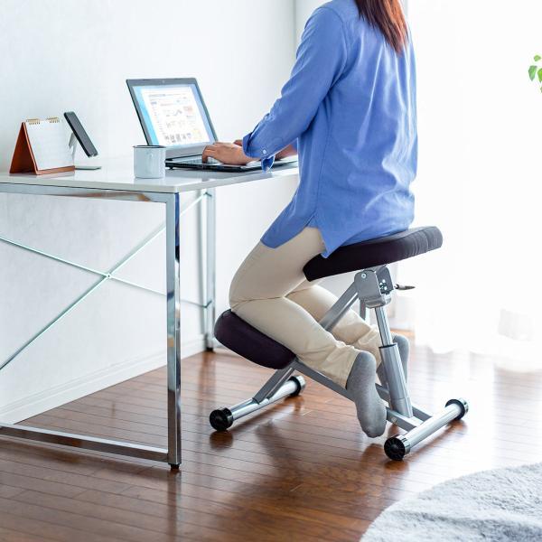 バランスチェア バランスチェアー 姿勢 矯正 椅子(即納)|sanwadirect|19