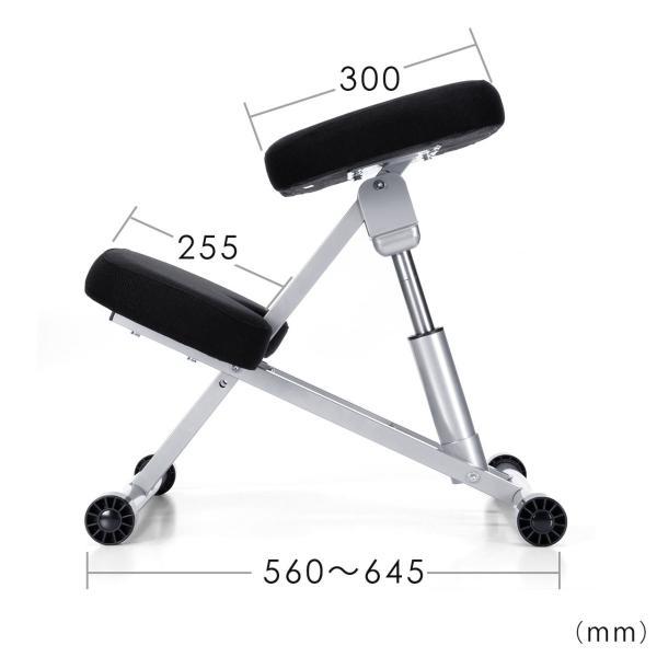 バランスチェア バランスチェアー 姿勢 矯正 椅子(即納)|sanwadirect|03