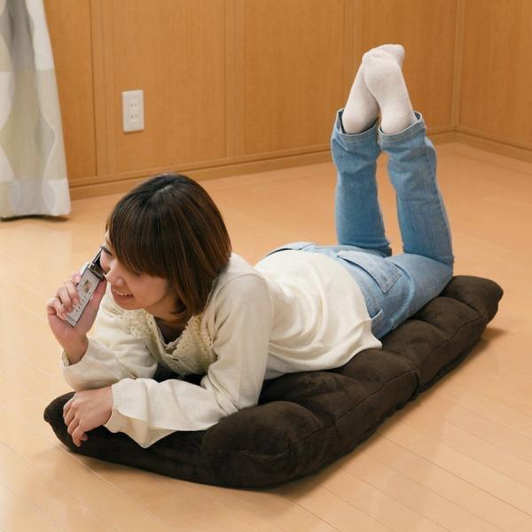 座椅子 座いす 座イス 低反発 リクライニング コンパクト 座椅子|sanwadirect|12