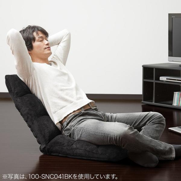 座椅子 座いす 座イス 低反発 リクライニング コンパクト 座椅子|sanwadirect|13