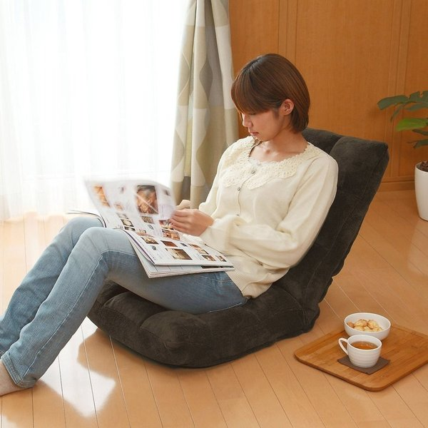 座椅子 座いす 座イス 低反発 リクライニング コンパクト 座椅子|sanwadirect|15