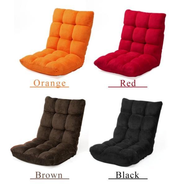 座椅子 座いす 座イス 低反発 リクライニング コンパクト 座椅子|sanwadirect|19