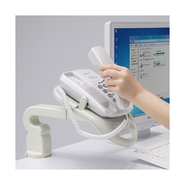 電話台 TEL台 テレフォンアーム 回転機能付|sanwadirect|08