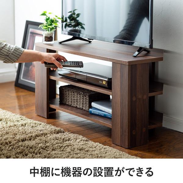 テレビ台 コーナーボード テレビラック テレビボード TV台 ローボード 32型 W80cm(即納) sanwadirect 08