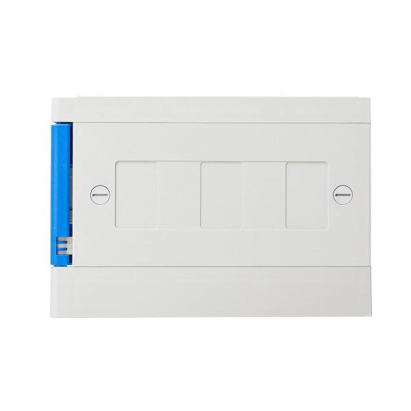 ロッカー プラスチックロッカー 2段セット品 100-LBOX004BL×2 100-LBOXCB002×1 底板セット 軽量 縦横連結可能 工具不要 簡単組立 ブルー(即納) sanwadirect 16