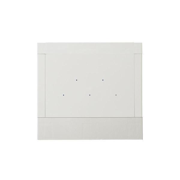 ロッカー プラスチックロッカー 2段セット品 100-LBOX004BL×2 100-LBOXCB002×1 底板セット 軽量 縦横連結可能 工具不要 簡単組立 ブルー(即納) sanwadirect 17