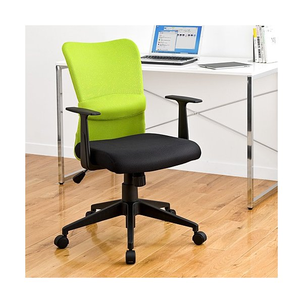 オフィスチェア 事務椅子 学習椅子 メッシュ 肘付き 肘掛け キャスター付|sanwadirect|11
