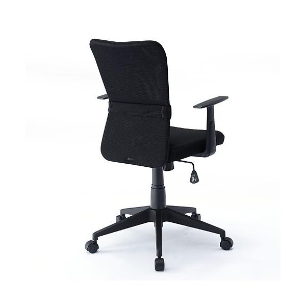 オフィスチェア 事務椅子 学習椅子 メッシュ 肘付き 肘掛け キャスター付|sanwadirect|09