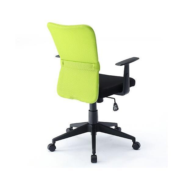 オフィスチェア 事務椅子 学習椅子 メッシュ 肘付き 肘掛け キャスター付|sanwadirect|10