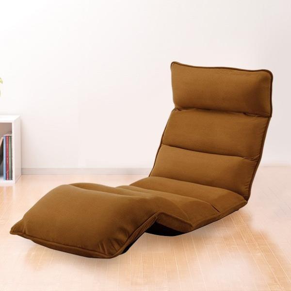 座椅子 座いす 座イス リクライニング 低反発 ハイバック sanwadirect 14