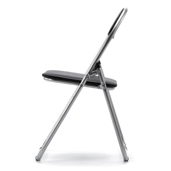 折りたたみ パイプ椅子 3脚セット 会議用椅子 パイプチェア(即納)|sanwadirect|11
