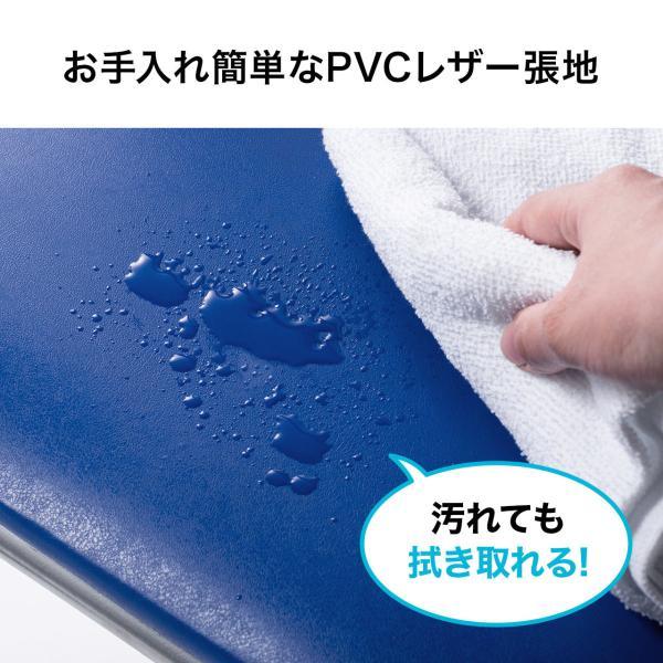 折りたたみ パイプ椅子 3脚セット 会議用椅子 パイプチェア(即納)|sanwadirect|05