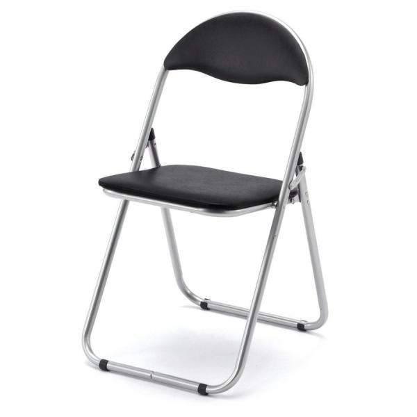 折りたたみ パイプ椅子 3脚セット 会議用椅子 パイプチェア(即納)|sanwadirect|10
