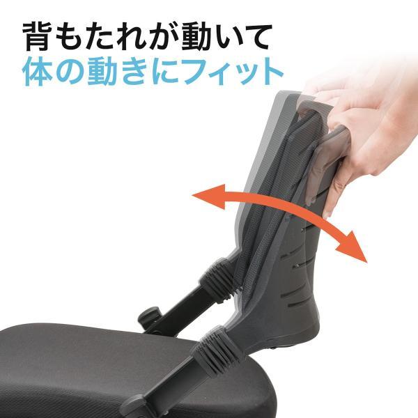 ミーティングチェア 会議椅子 キャスター付 折りたたみ ネスティングチェア スタッキング メッシュ  1脚(即納)|sanwadirect|05