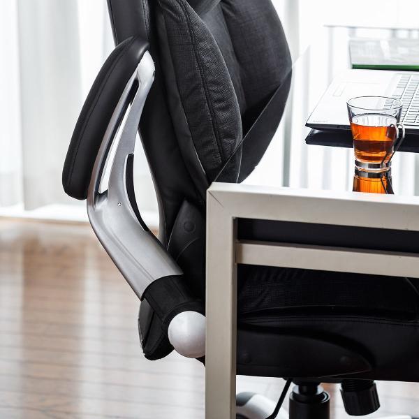 リクライニングチェア チェアー オフィスチェア 社長椅子 ロッキング ハイバック パーソナルチェア|sanwadirect|18