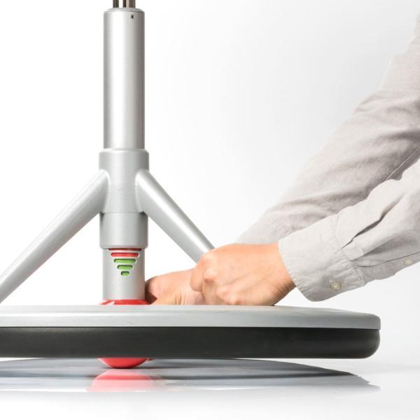 オフィスチェア ハイスツール スタンディング 上下昇降デスク対応 エルゴノミクスチェア 人間工学 ガス圧 高さ調整 Back App(即納)|sanwadirect|18