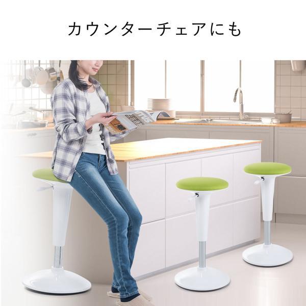 カウンターチェア カウンターチェアー おしゃれ ハイスツール 昇降式(即納) sanwadirect 12