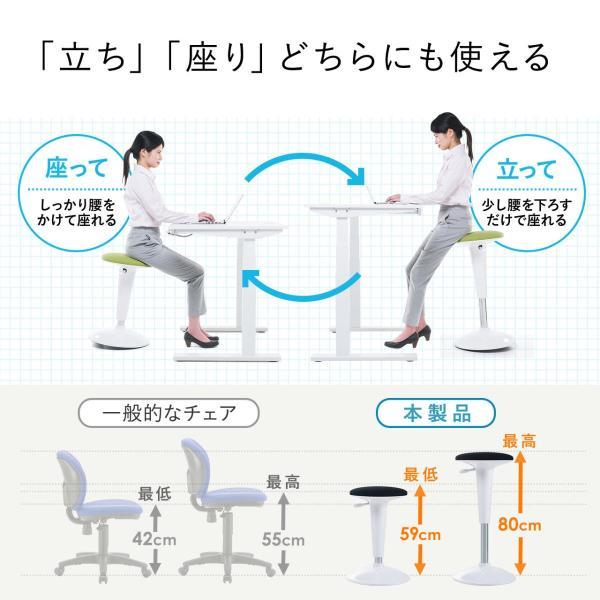 カウンターチェア カウンターチェアー おしゃれ ハイスツール 昇降式(即納) sanwadirect 06