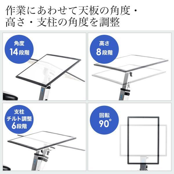 バランスチェア デスク バランスチェアー(即納)|sanwadirect|03