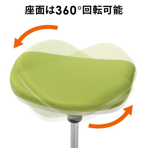 オフィスチェア エルゴノミクス 人間工学 パソコンチェア 椅子 イス(即納)|sanwadirect|15