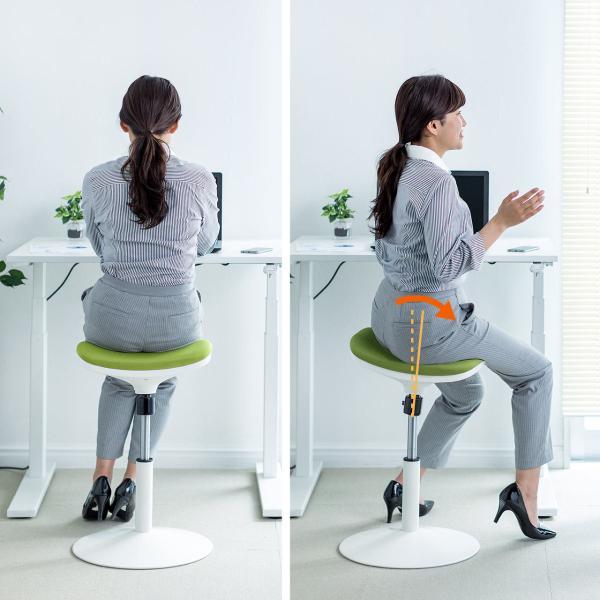 オフィスチェア エルゴノミクス 人間工学 パソコンチェア 椅子 イス(即納)|sanwadirect|05