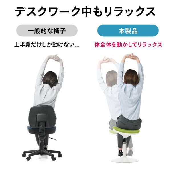 オフィスチェア エルゴノミクス 人間工学 パソコンチェア 椅子 イス(即納)|sanwadirect|06