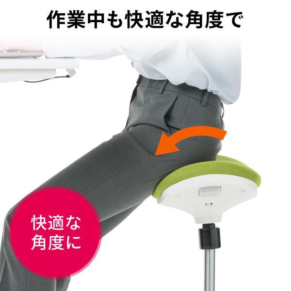 オフィスチェア エルゴノミクス 人間工学 パソコンチェア 椅子 イス(即納)|sanwadirect|07