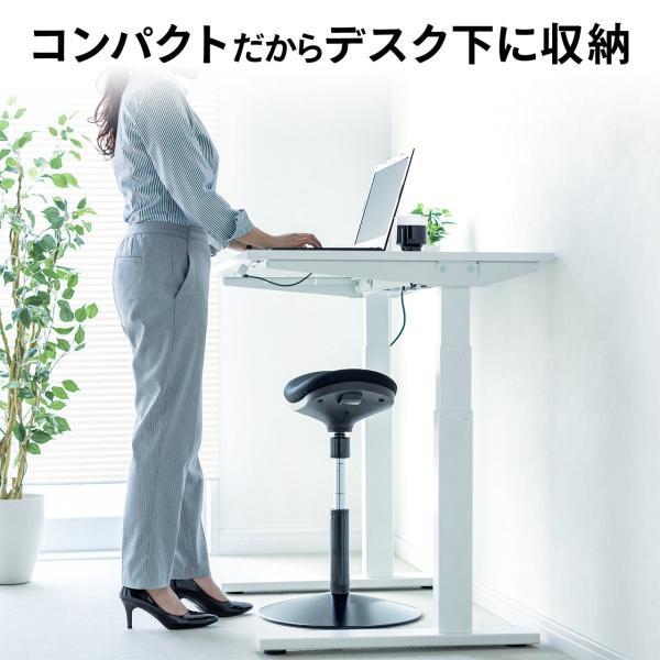 オフィスチェア エルゴノミクス 人間工学 パソコンチェア 椅子 イス(即納)|sanwadirect|09
