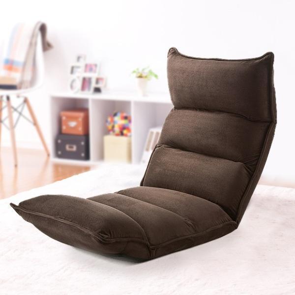 座椅子 座いす 座イス リクライニング 低反発 マイクロファイバー メッシュ(即納)|sanwadirect|17