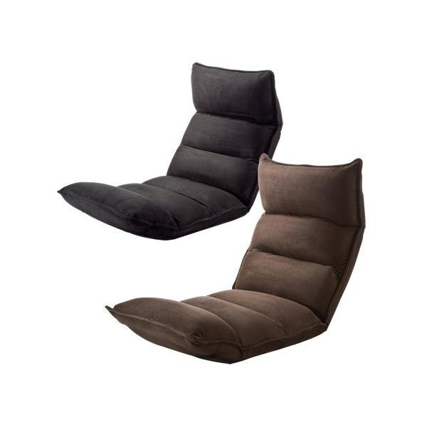 座椅子 座いす 座イス リクライニング 低反発 マイクロファイバー メッシュ(即納)|sanwadirect|18