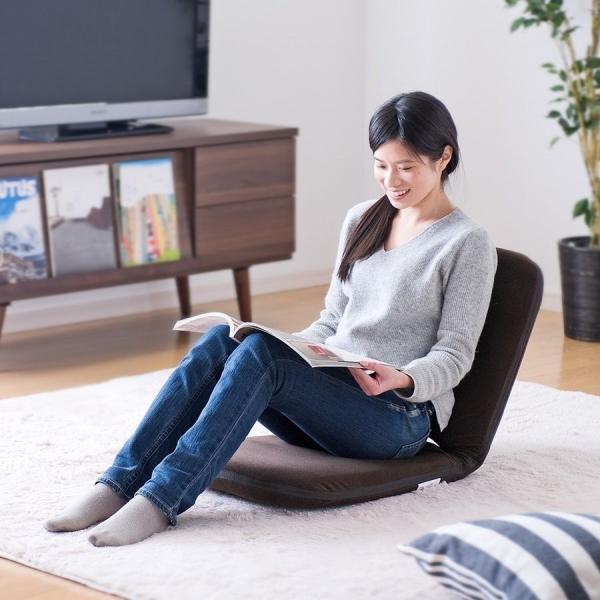 座椅子 折りたたみ 座いす 座イス コンパクト リクライニング おしゃれ(即納)|sanwadirect|18